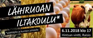 Lähiruoan iltakoulu @ Hintsan vintti | Suomi