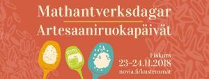 Artesaaniruokapäivät / Mathantverksdagar @ Hotel Tegel, Fiskars | Suomi